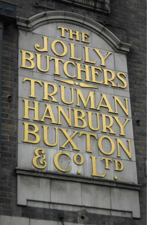 Truman brewery sign