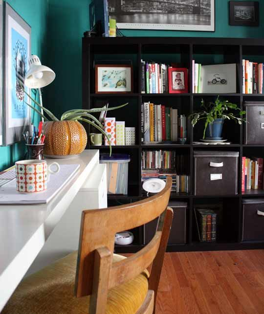 17 best images about home office on pinterest offices for Long narrow office layout