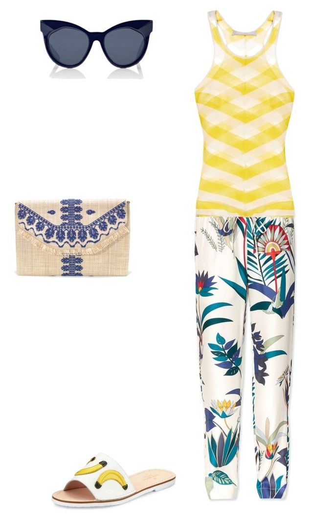 """""""Untitled #89"""" by susan-v on Polyvore featuring Tory Burch, Kate Spade, Karen Walker, Stella & Dot and STELLA McCARTNEY"""