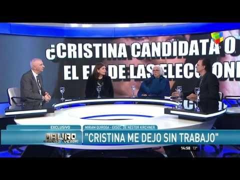 """Miriam Quiroga: """"Cristina me hizo mucho daño"""""""