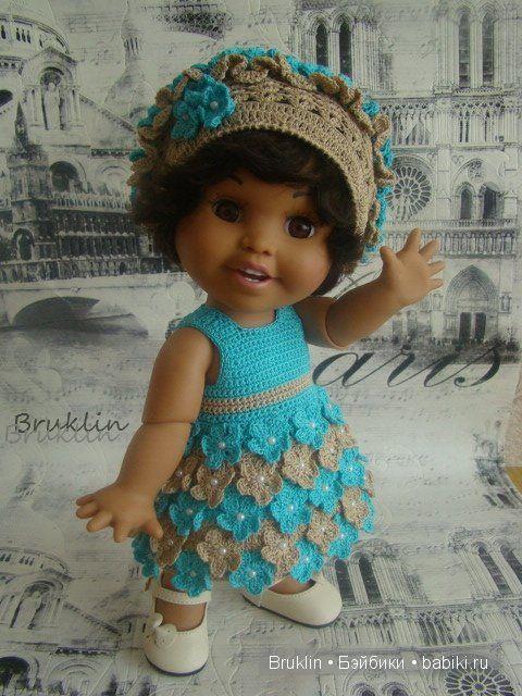 """""""Сердечное"""" платье для Лауры Baby Face от Galoob или к Дню святого Валентина посвящается... / Одежда и обувь для кукол - своими руками и не только / Бэйбики. Куклы фото. Одежда для кукол"""