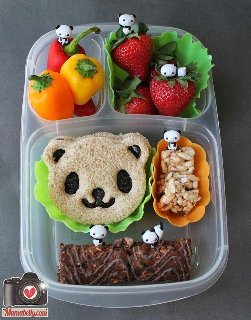 Starter Bento Lunch Kit {Giveaway} with prizes from @EasyLunchboxes and @BentoUSA - www.mamabelly.com