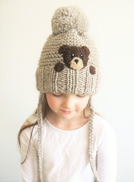 Sombreros de la hija de la madre, llevar sombrero, mamá y yo, juego sombreros, sombreros de punto, Pom Pom sombreros, coincidentes trajes, sombrero de mujer, Unisex niños sombrero, lindo
