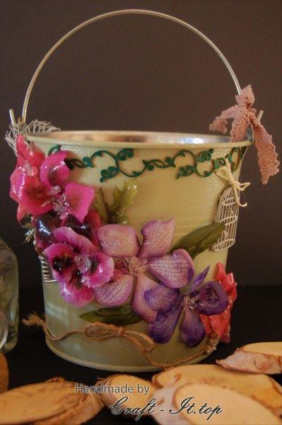 Flowerpot with Sospeso trasparente