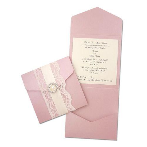 Design your own invitation - dusky pink