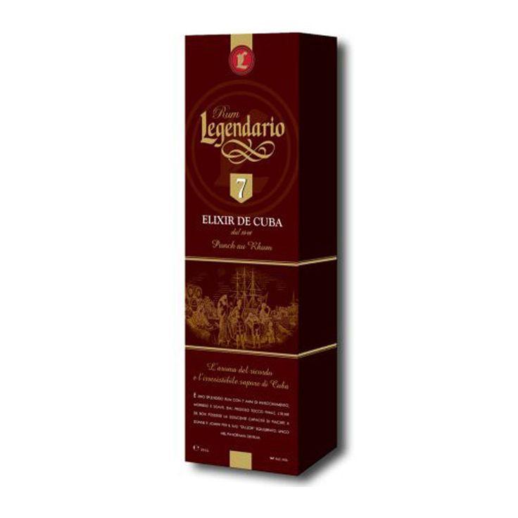 Confezione regalo Rum Legendario Elixir de Cuba