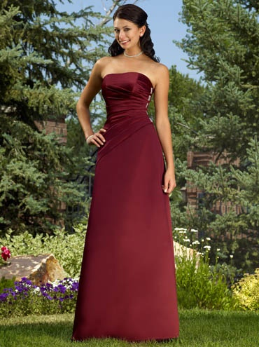 18 best burgundy gold bridesmaid dresses images on pinterest for Burgundy and gold wedding dress
