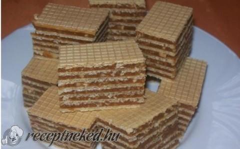 Kekszes-mogyorós nápolyi recept fotóval