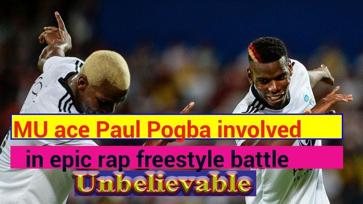 Manchester United ace Paul Pogba involved in epic rap freestyle battle whilst walking the streets