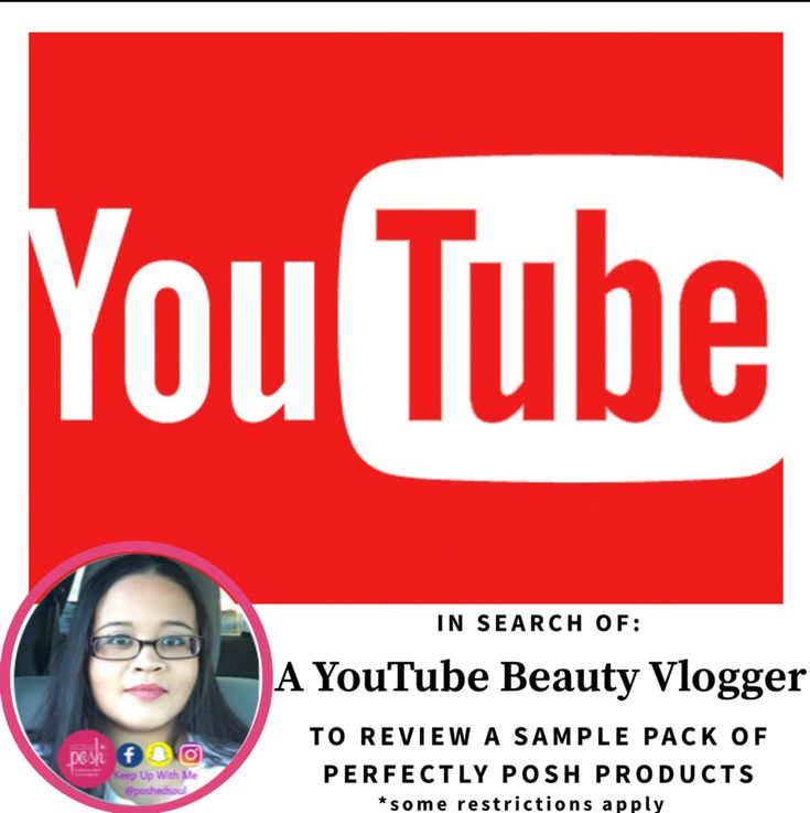 If you or somebody you know has a youtube channel with at least 500 subscribers and you wanna review some Perfectly Posh products, DM me.