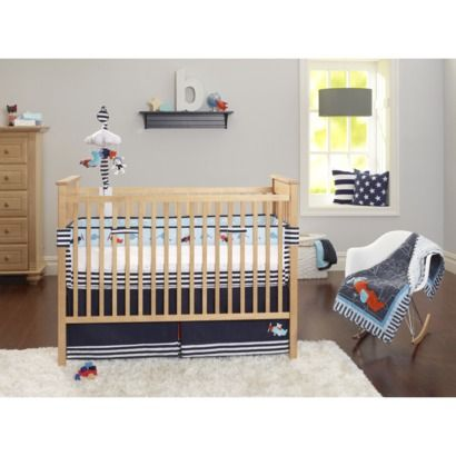 Just One You Made by Carter's® Clear Skies 3pc Boy's Crib Set