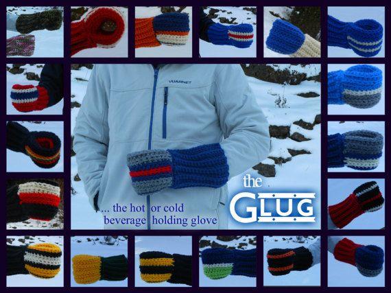 Beer glove with adjustable sleeve Super Bowl Champions SB LI