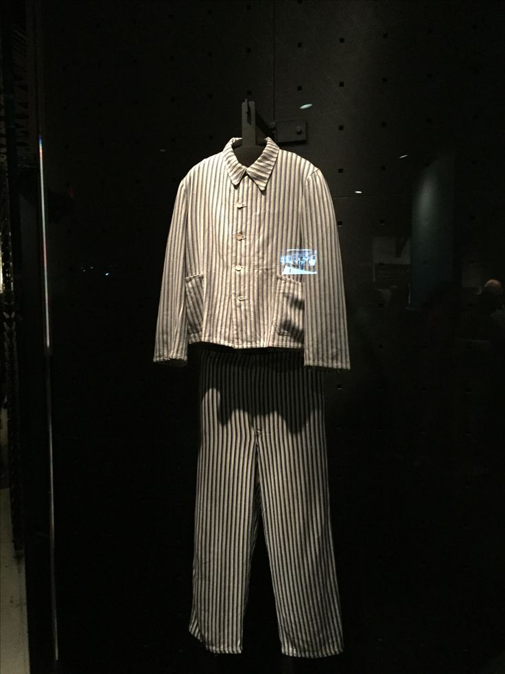 The Nazi state persecuted millions of people, robbing them from their possessions, forcing them from their homes, and confining them in prisons and camps. These uniforms were worn by prisoners at the Majdanek concentration camp.