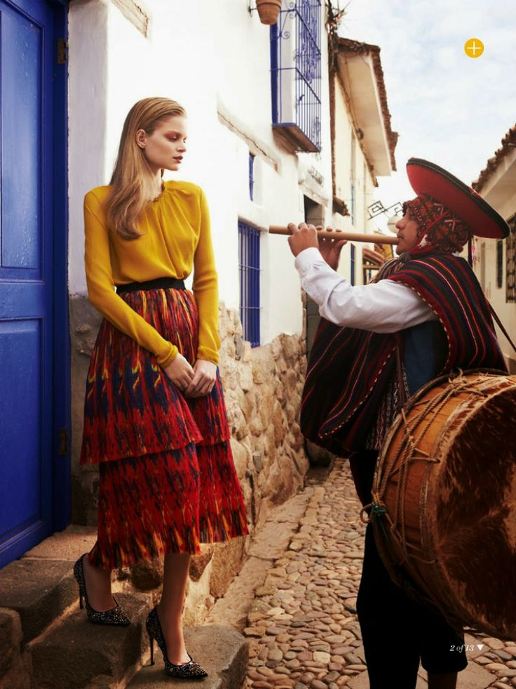 Fashion, Marie Claire Australia, Perú , Cusco, The accidental Tourist