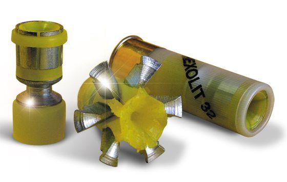 Hexolit32 12 gauge shotgun round reloading pinterest for 12 ga door breaching rounds