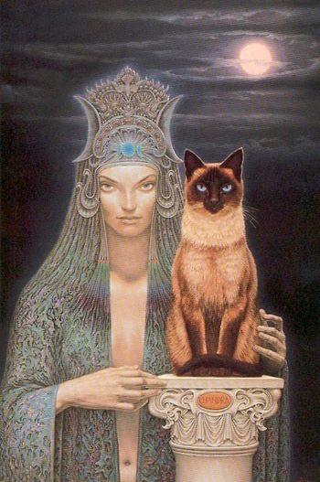 In de spotlight van de Godinnendag van vandaag staat Bast. Dit is een Egyptische godin die wordt afgebeeld als een vrouw met een kattenhoofd. Maar naast dat ze de beschermster van katten is, doet ze nog veel meer.  Om te beginnen stelt zij ons in contact met onze innerlijke kat. Deze wil vrij zijn, en onafhankelijk. Maar toch ook affectie krijgen, als het haar uitkomt natuurlijk. Maar daarnaast is ze ook gracieus en speels, een echte femme fatale dus. …