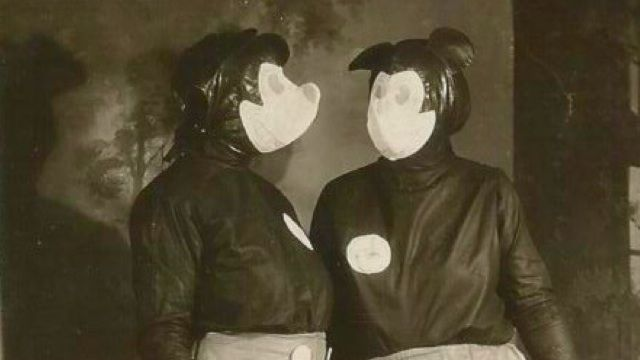 Vintage Mickey Mouse costumes
