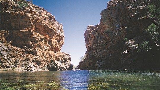 Ellery Creek Big Hole, Alice Springs, Northern Territory, Australia
