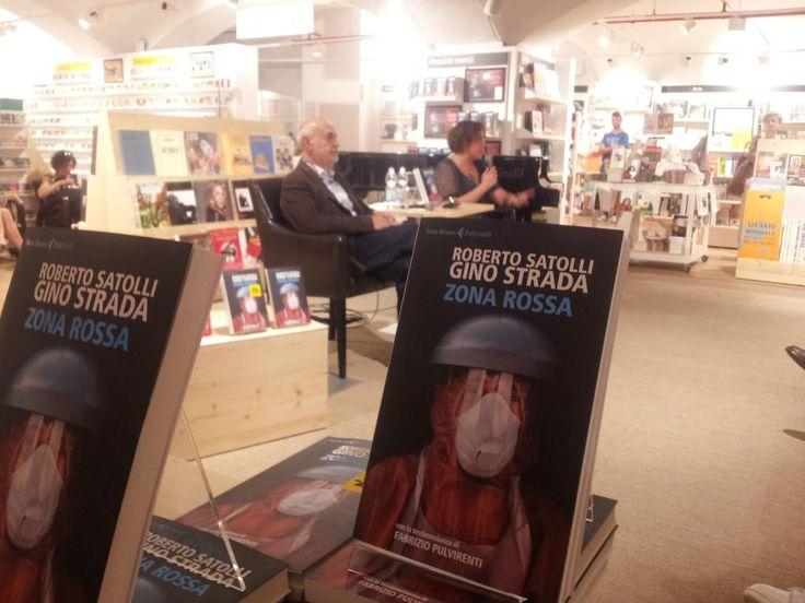 #ZonaRossa il nuovo libro di #GinoStrada e Roberto Satolli sul nostro lavoro contro #Ebola @LaFeltrinelli