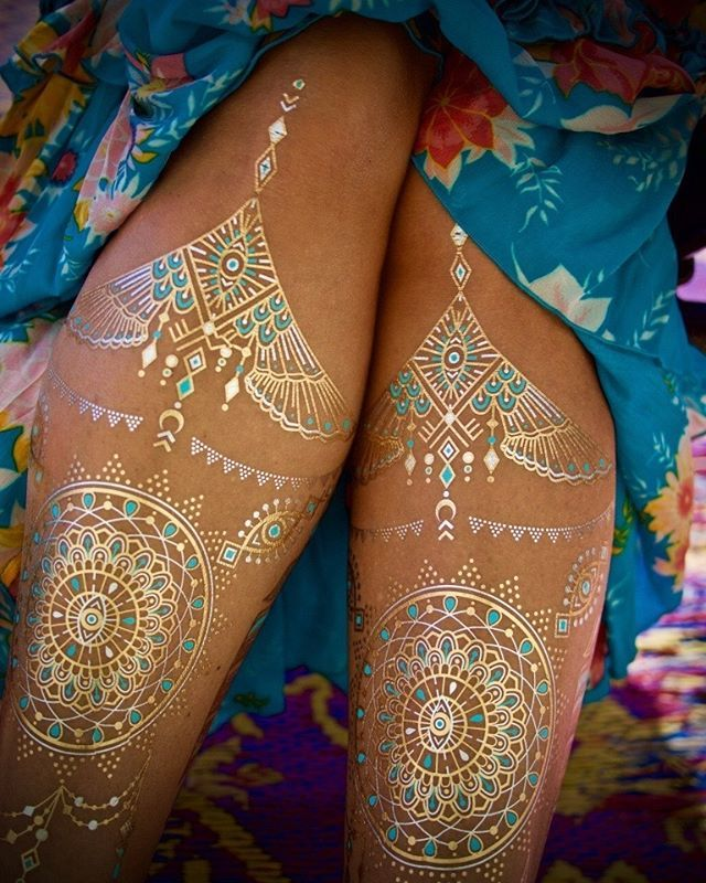 And sometimes you just want to be covered in bling! All of my Nüd Ink tattoos (designed by me!!) are on sale for our final liquidation! Plus FREE SHIPPING within USA! Link in profile @hennalounge#blingfordays #wingtattoo #mandala #henna #mehndi #dreamcatchertattoo #festivalfashion #dametraveler #vacationwear #resortwear2018 #waterproof #artistlife #entrepreneurlife #getnud #hennaloungenud #hennaloungemexico