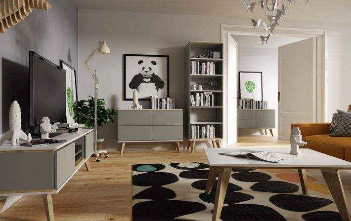 Komody Jorgen do salonu to produkt polski, wykonany zgodnie z najnowszymi trendami, wprowadzi do naszego salonu powiew świeżości i lekkiego designu, nawiązujący do stylu skandynawskiego. https://mirat.eu/komody,c155.html