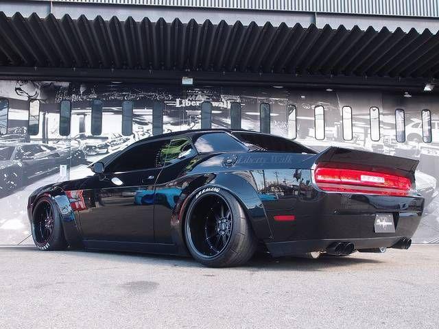 Auto Body Shops >> ダッジ ダッジ チャレンジャー SXT LB WORKS フルコンプリート | Liberty Walk 株式会社 ...