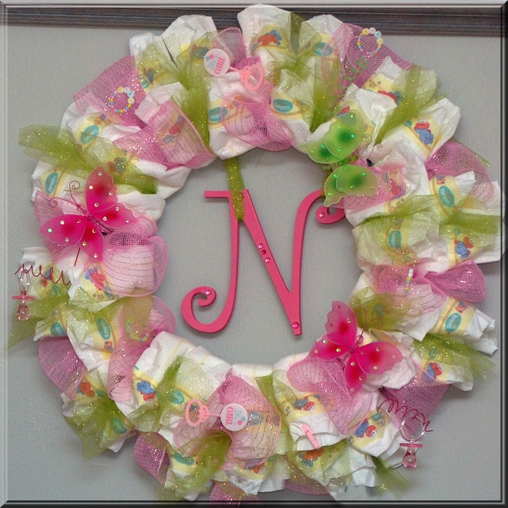 Baby Shower Wreath Instructions: Pinterest • The World's Catalog Of Ideas