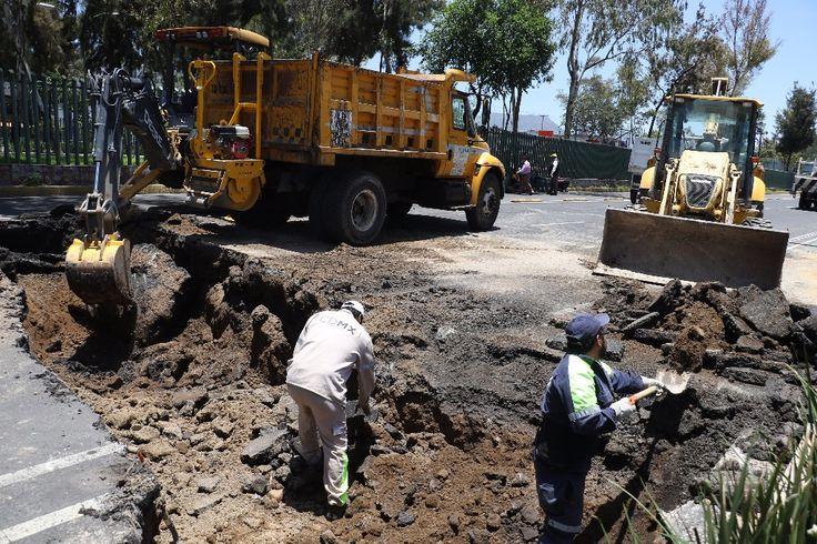 Concluye Gobierno CDMX reparación del hundimiento en Eduardo Molina