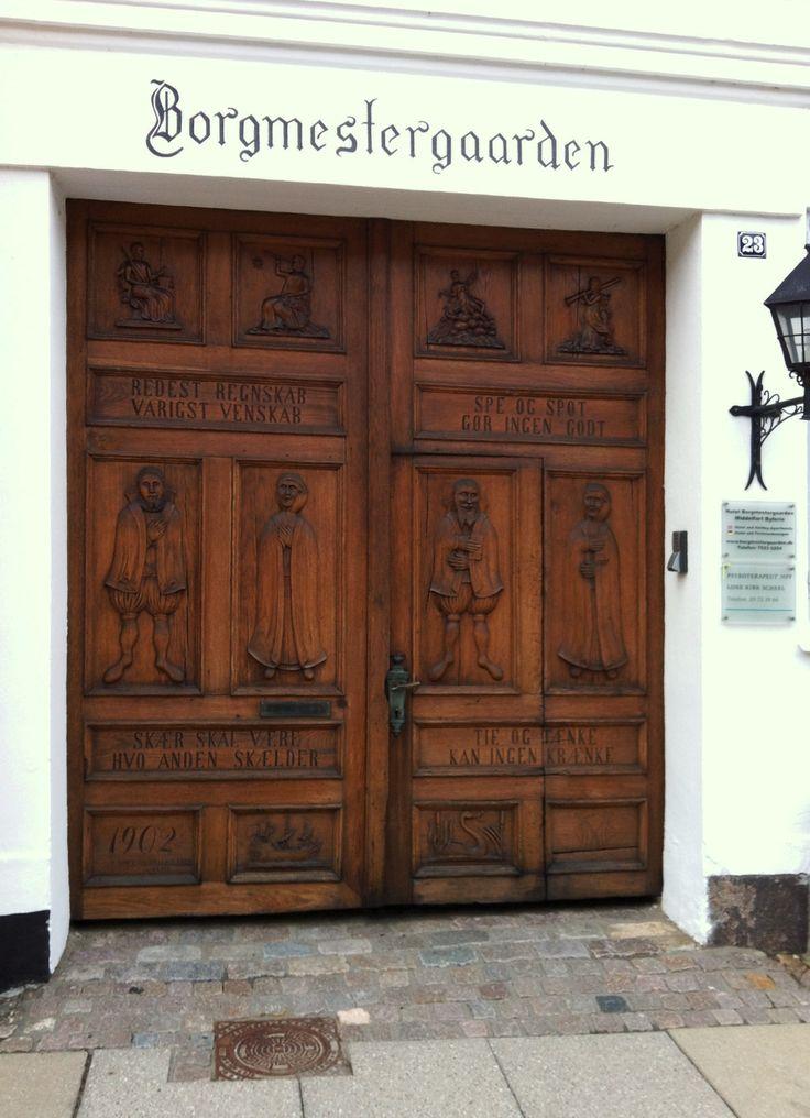 Doorway in Middelfart, Denmark