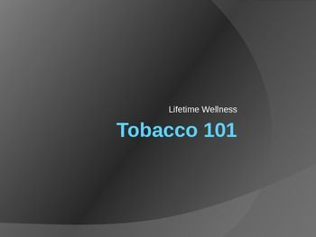 This is a very detailed PPT about cigarettes, smokeless tobacco, advertising, and health effects. It also includes the scientific method and...
