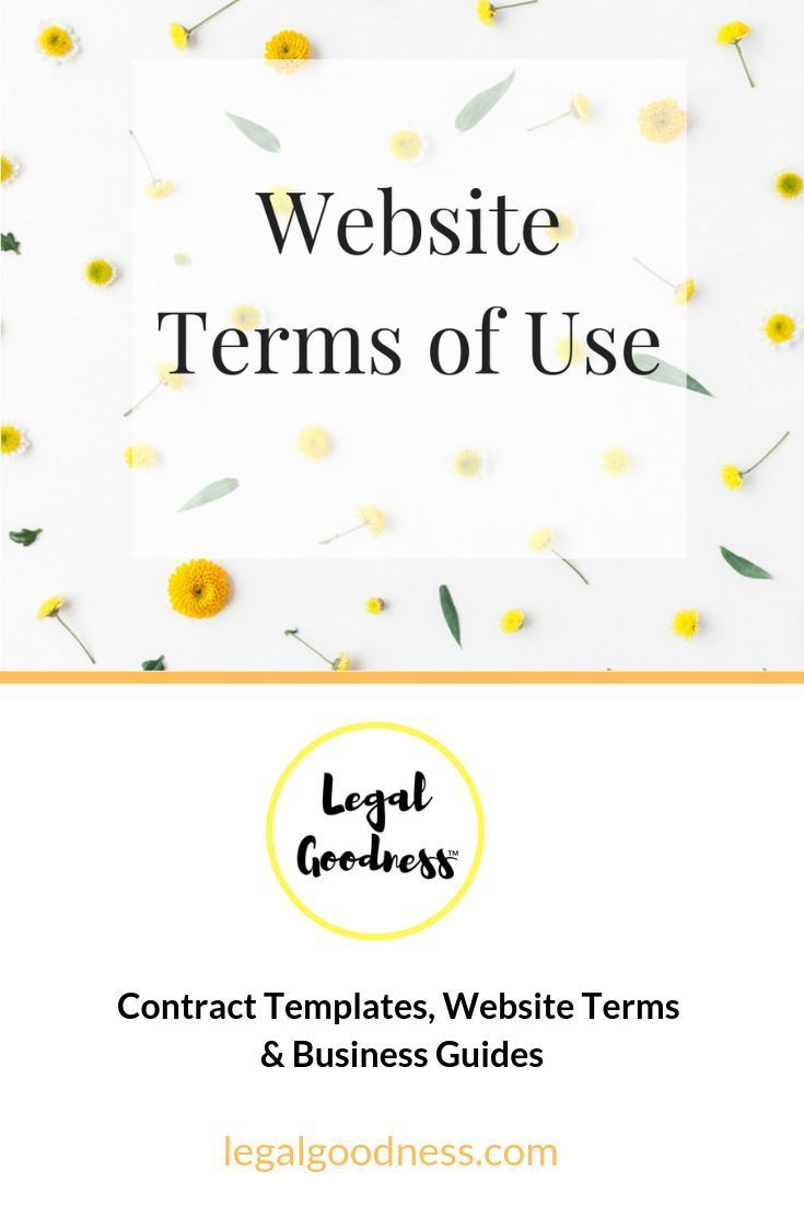 Terms Of Use In 2020 Contract Template Website Terms Contract Law