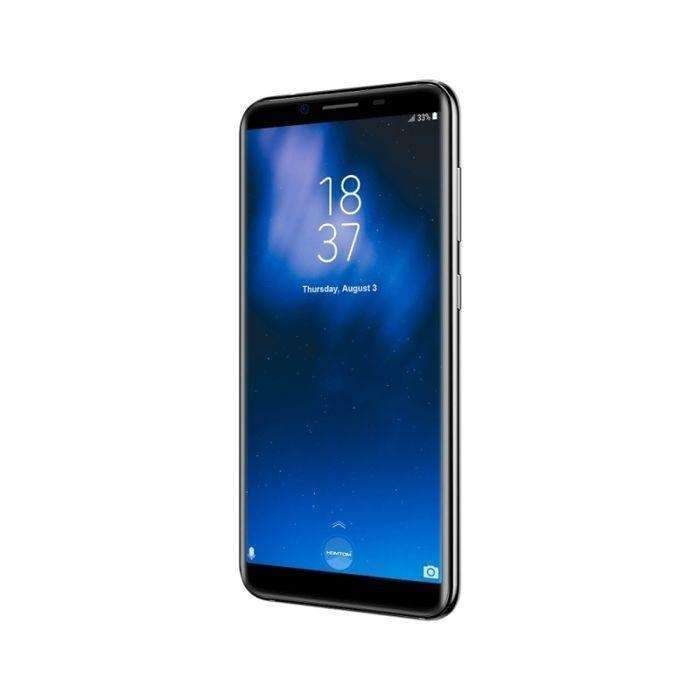 Blue Homtom S8 4gb+64gb Dual Back Cameras Fingerprint Identification 5.7 Inch 2.5d Android 7.0 Mtk67