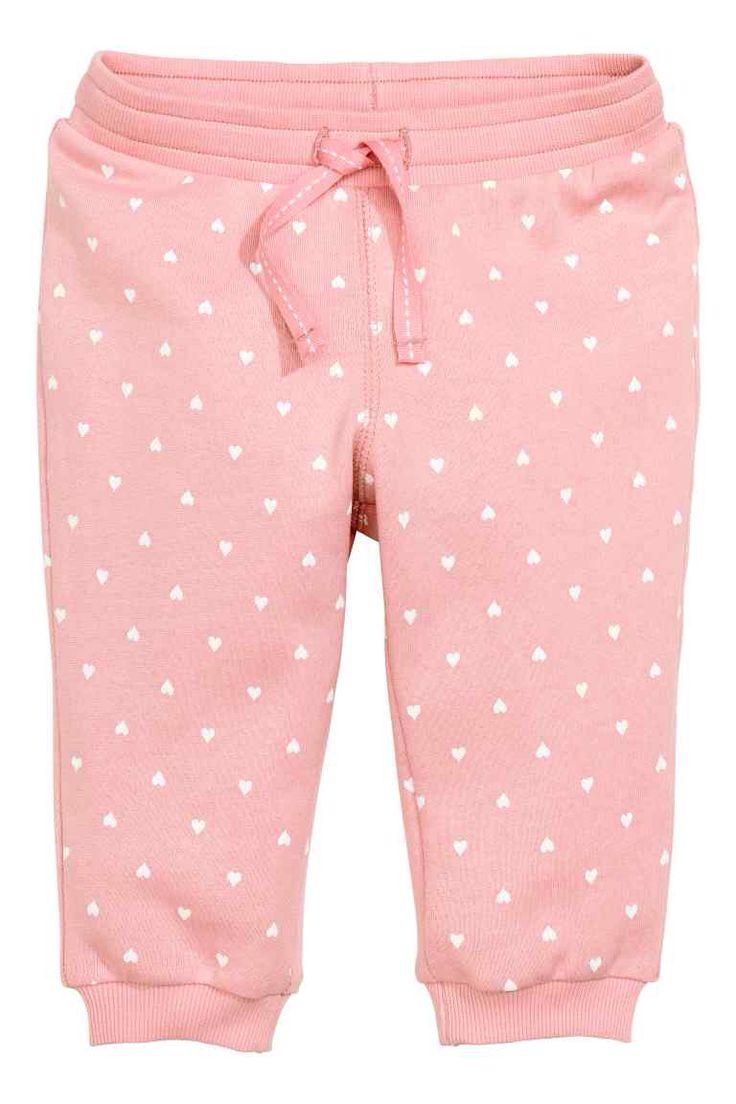 Байковые брюки с рисунком
