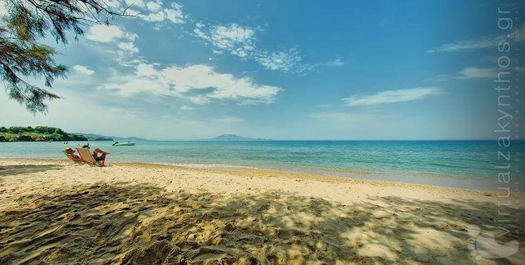 Tragaki beach Zakynthos island (Zante).