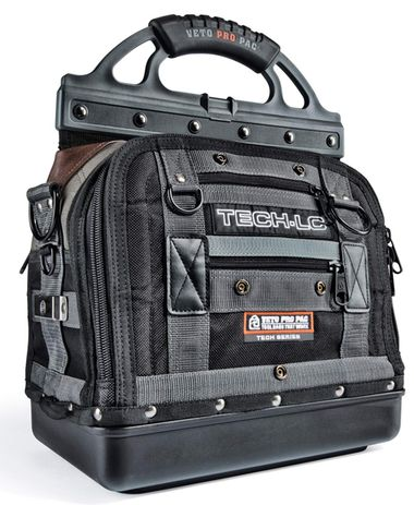 Veto Pro Pac TECH-LC Heavy Duty Tool Bag The TECH-LC is a service technician version of the original Model LC. A number of changes have been made to tailor the bag to accommodate HVAC service technici