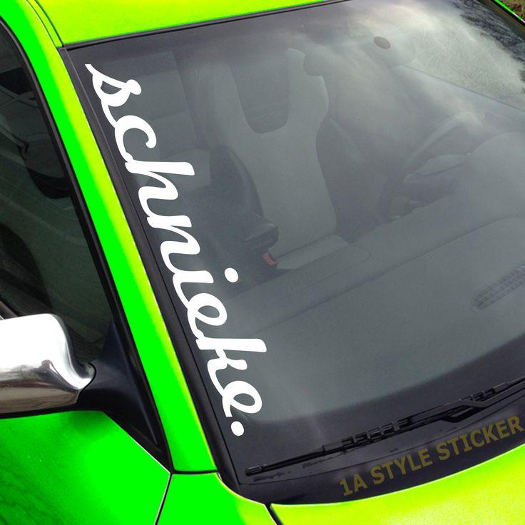 Heck-Scheibenaufkleber 55cm  Hologramm Oil-Slick Autoaufkleber schnieke tief