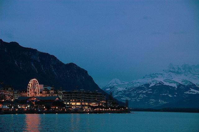 Montreux Christmas market, Switzerland
