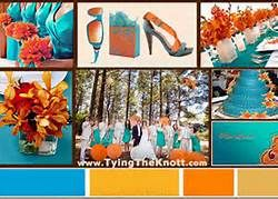 color theme teal brown yellow - Bing Images