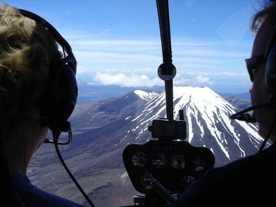 Volcanic Safari and Alpine Landing Helicopter Flight - Taupo