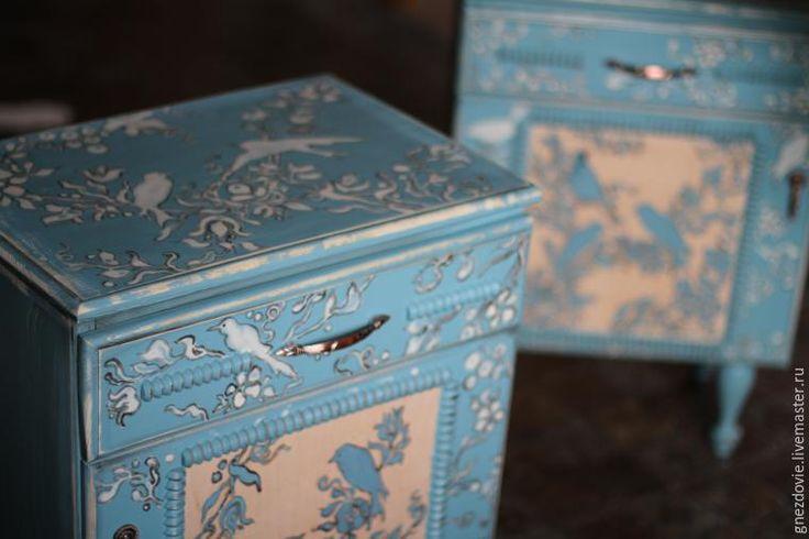 Расписываем бабушкин сундук, шкаф, стол и тумбочку краской по мебели - Ярмарка Мастеров - ручная работа, handmade