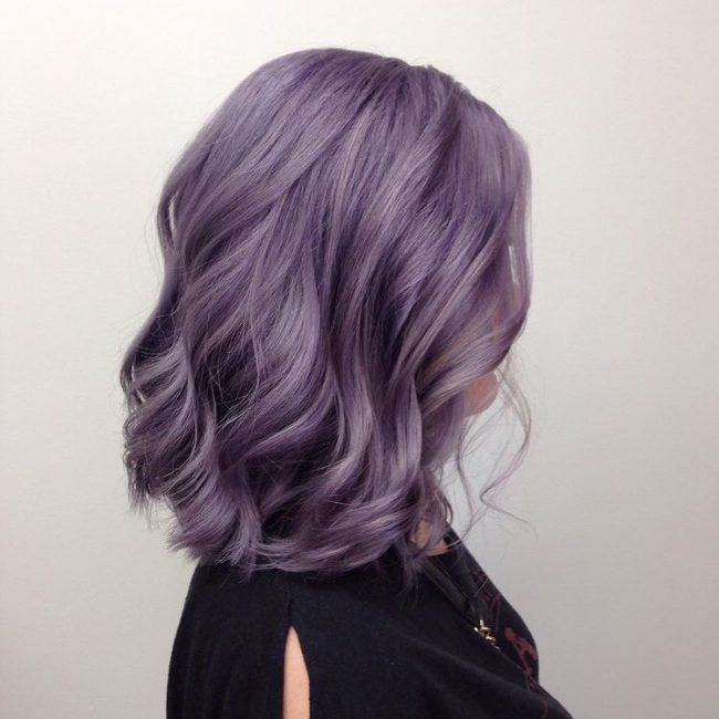 Top 10 Pastel Purple Hair Color Ideas | New Hair Color Ideas