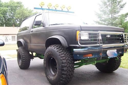 1990 Chevrolet S 10 Blazer Lifted Trucks Chevrolet S