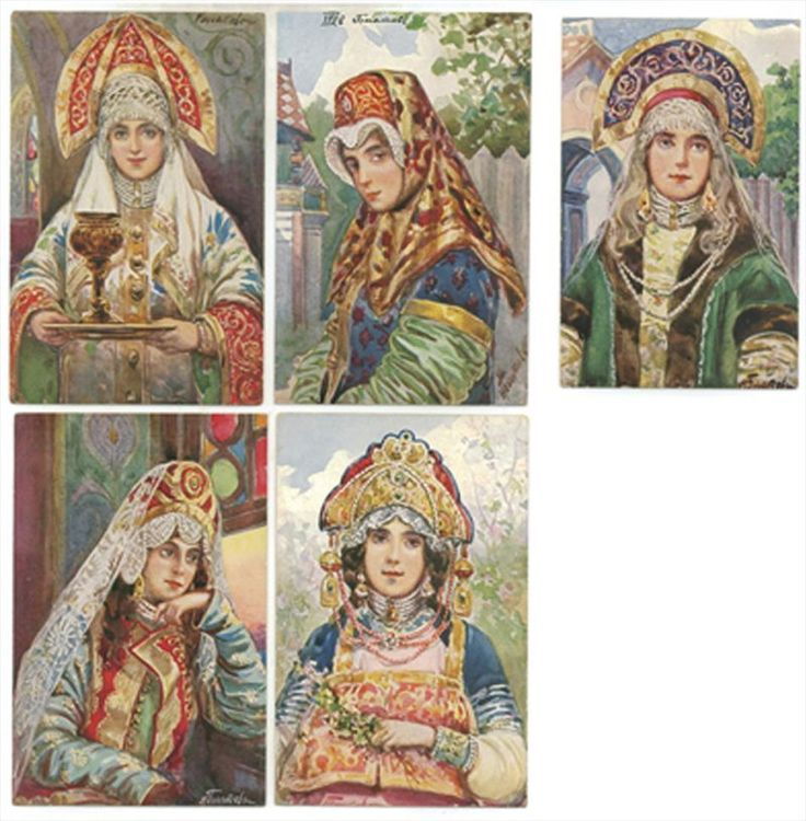 Kokoshniks were, predominately, worn by married women. Unmarried girls sometimes wore them too, but more often unmarried girls wore beautifully decorated and embroidered hats. Every women in Russia wanted to be beautiful. :-) Peasant women, for example, used candy wrappers and foil to decorate their Kokoshniks.The technique was so brilliant that nobody was able to tell what this Kokoshniks were decorated with. :-) One of the most beautiful examples of Kokoshnik decorated with foil and candy…
