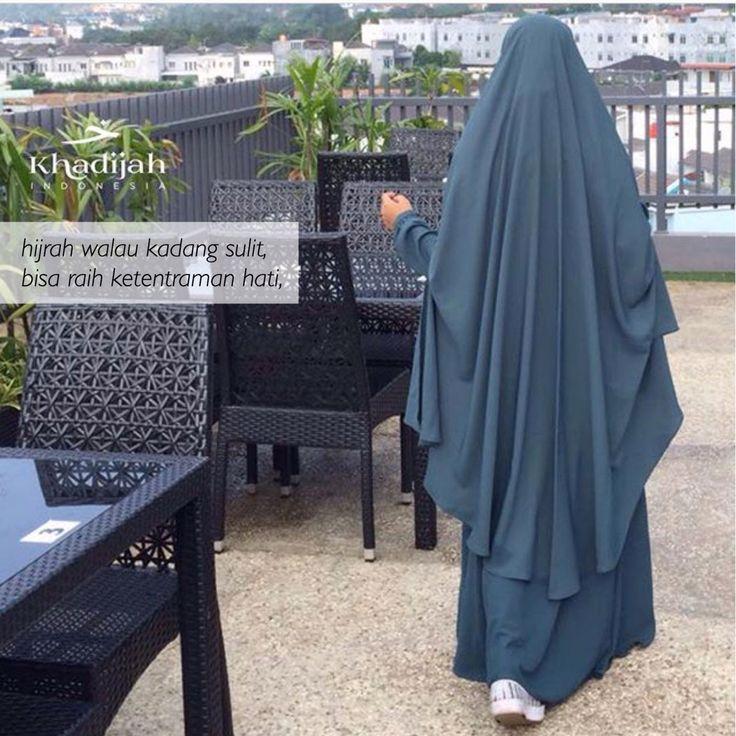 soraya set #khadijahindonesia #khimar #abaya #hijab #modest #hijrah #syari