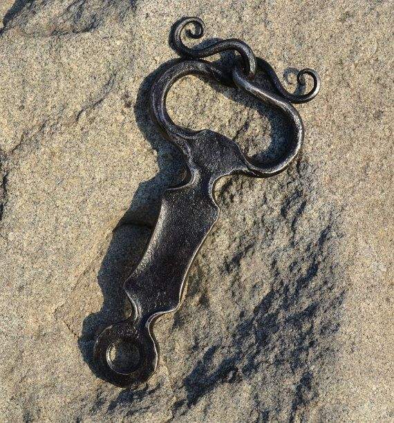BOTTLE OPENER Iron Hand Forged