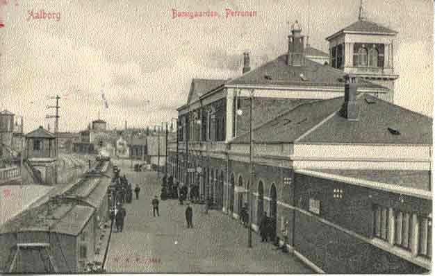 Nordjyllands jernbaner - Aalborg station