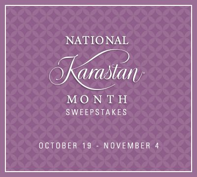 Enter the National Karastan Month #Sweepstakes for a chance to win one of two amazing cash prizes! (check for $500 0r $1,000) Ends 11/4/15.