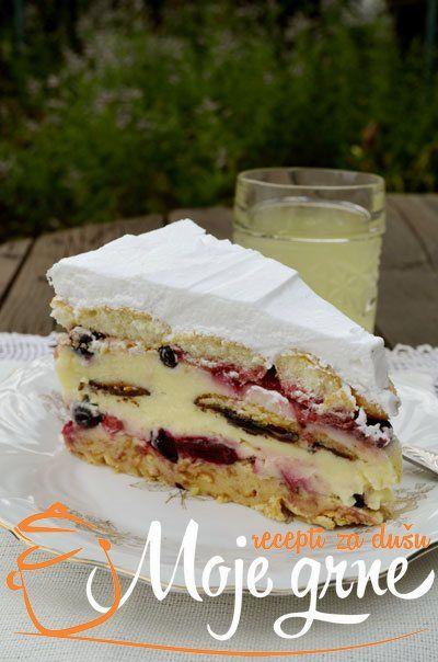 Voćna keks torta