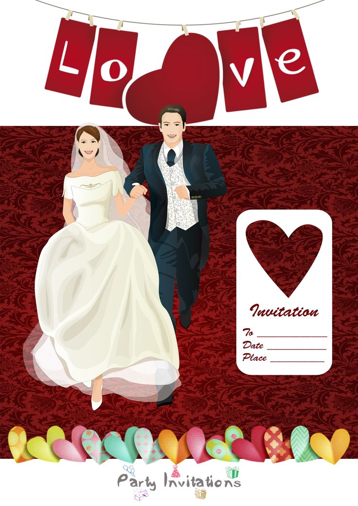 your wedding party invitations