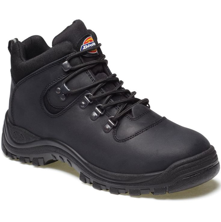 Workwear World - Calzado de protección para hombre negro Black with Grey/Red Trim, color negro, talla 40